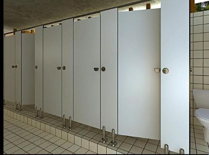 不让卫生间隔断配件生锈有哪些办法