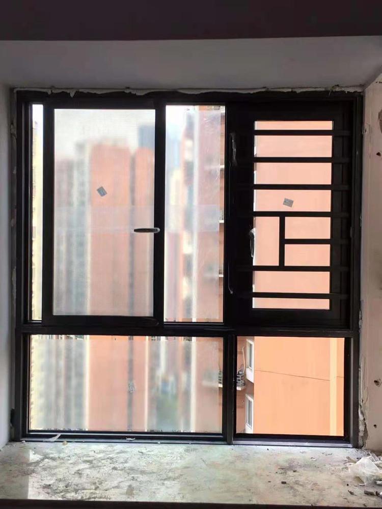 成华区红枫岭三期:115断桥平开推拉窗系列
