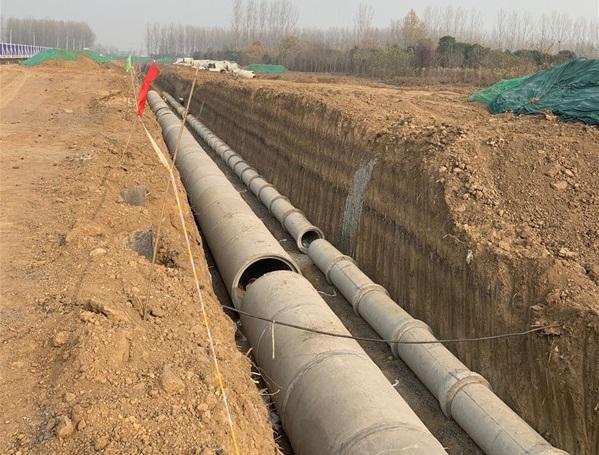 許昌水泥管施工案例