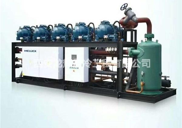 台湾汉钟螺杆并联机组制冷设备
