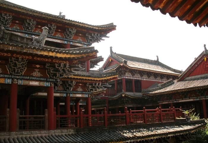 甘肃古建筑设计