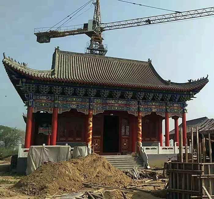 甘肃古建筑维修