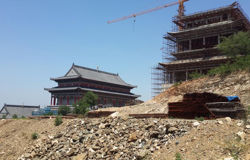 寺院建筑工程施工