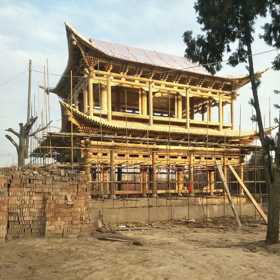 甘肃仿古建筑施工