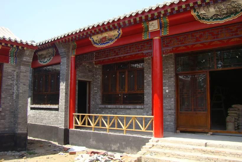 寺庙油漆彩绘施工