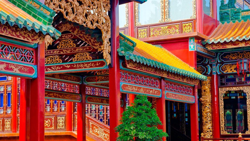 古建筑彩绘 旋子彩画  和玺彩画  苏式彩画