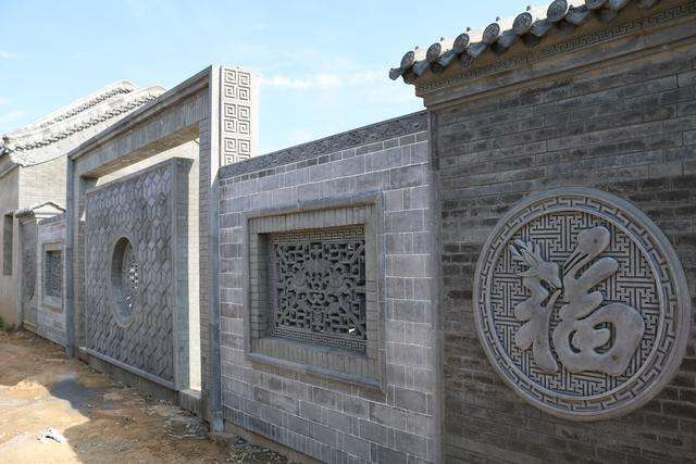 仿古建筑砖雕