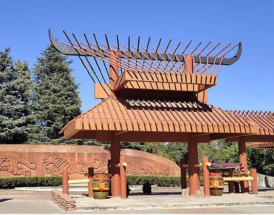 木结构加工厂给你讲述古建青瓦平屋面的施工操作技巧
