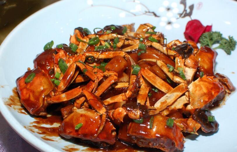 香辣大闸蟹的做法,香辣过瘾,一锅根本不够吃,再来10只!