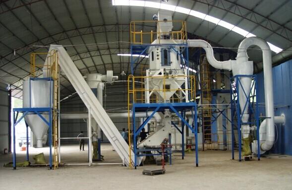 成都生物质燃料厂房设备