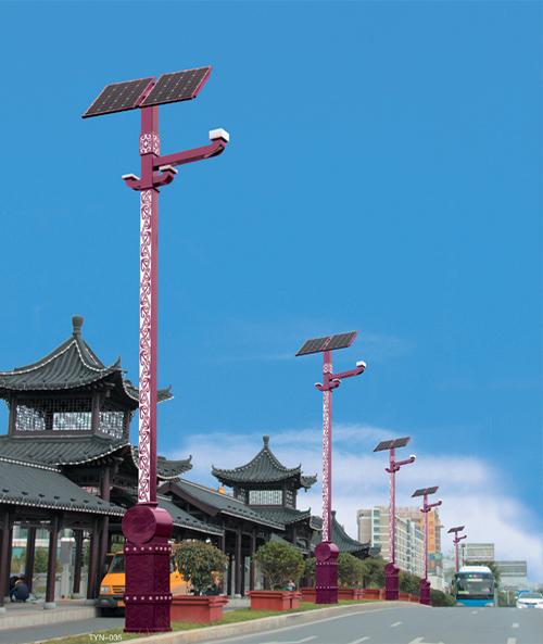 蘭州太陽能路燈廠家詳細介紹太陽能庭院燈與景觀燈的差別有什么