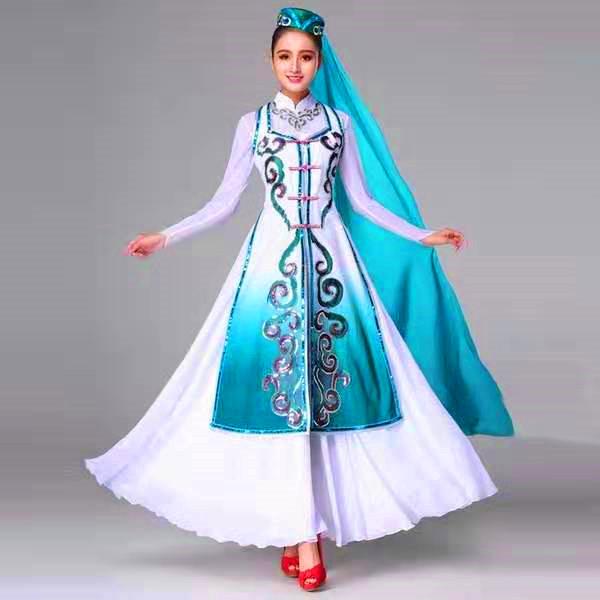 银川少数民族舞服装