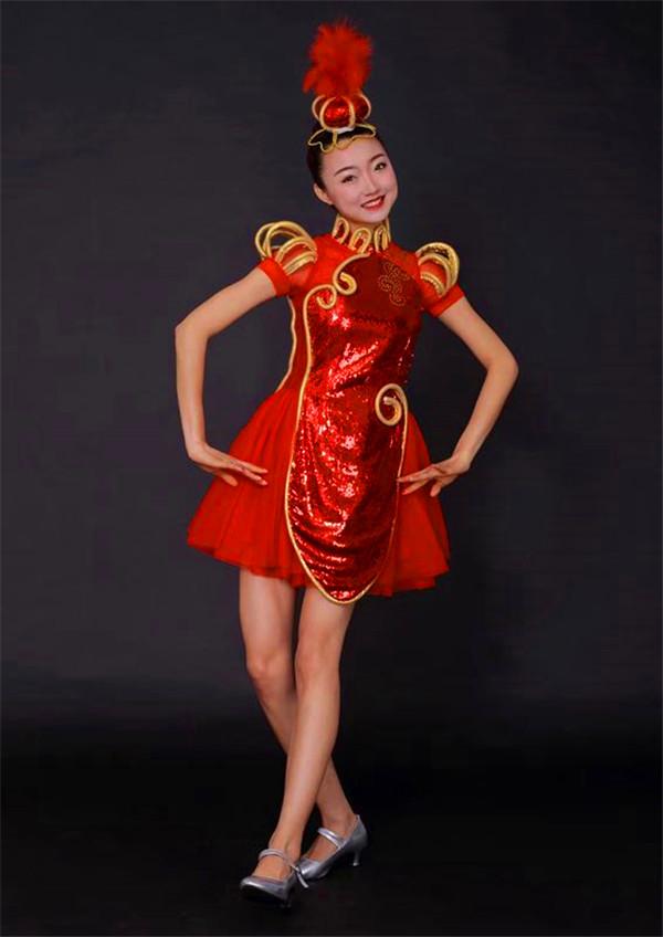 汉族舞服装租赁