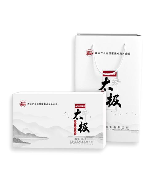 河南太极铁棍山药面礼盒180gX8