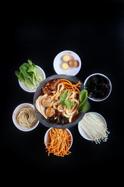 原味砂锅食材