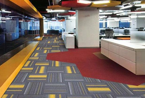 成都方块地毯安装