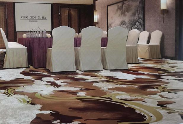四川酒店印花地毯