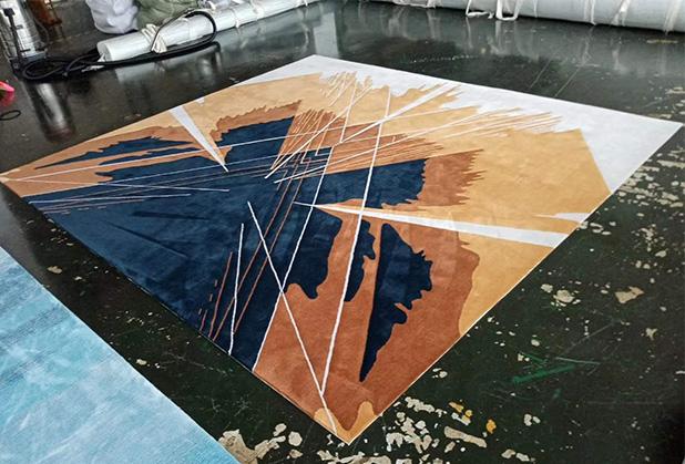 成都手工地毯定制