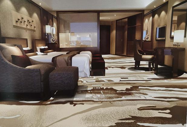 成都酒店地毯设计成功案例