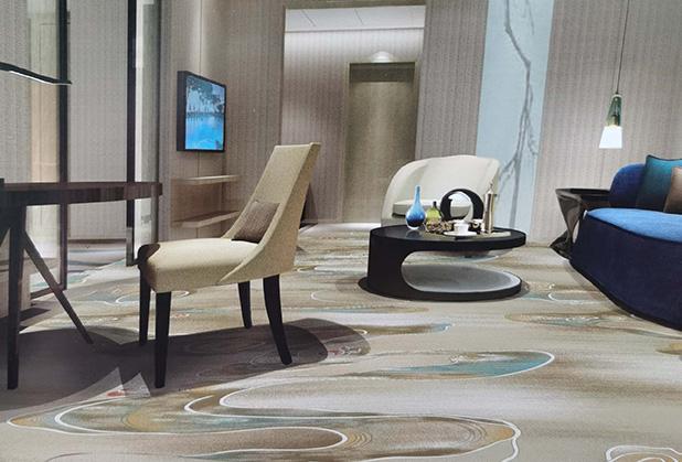 成都酒店地毯設計