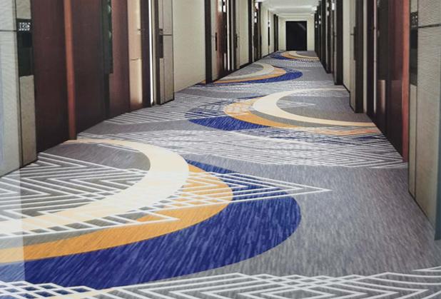 四川会所印花地毯