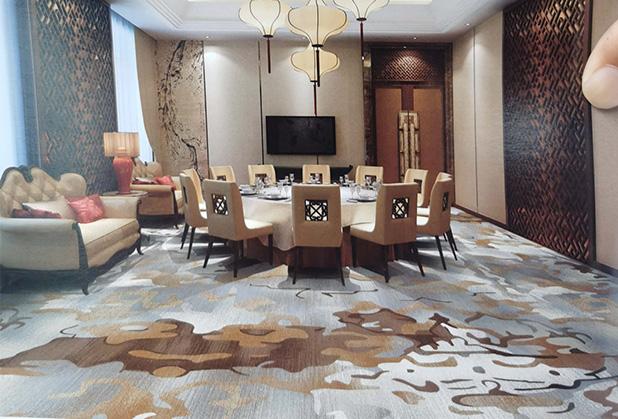 怎樣選擇地毯的色澤和圖案?
