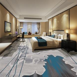 成都酒店地毯這樣鋪都好看