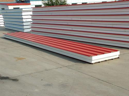 呼市彩钢聚笨复合板