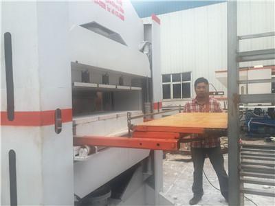 信陽新型珍珠巖保溫板自動生產線設備