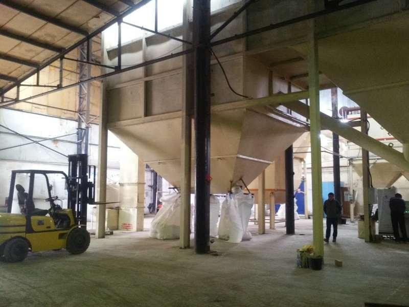 膨脹珍珠巖生產線設備安裝