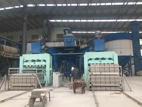 新型珍珠巖保溫板自動生產線設備