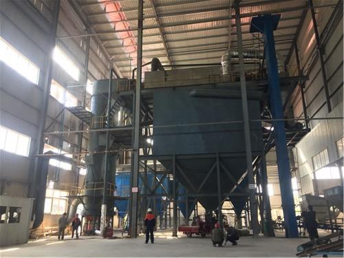珍珠巖設備-凱蒂燃氣膨脹爐正式運行生產