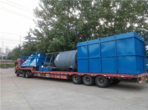 尚陽弘星浙江新材料股份有限公司在津乾機械 定制的整套珍珠巖膨脹設備順利發貨安裝