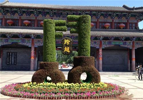 郑州五色草造型