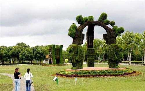 河南五色草造型制作设计选择公司很重要