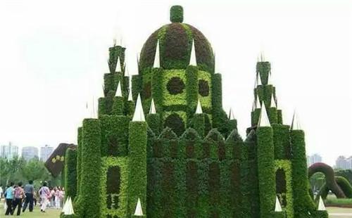 五色草造型在城市公园里应该遵循的原则