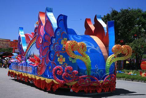 河南花车的丰富历史悠长文化