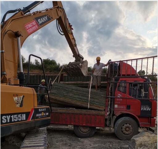 貴州竹跳板修建高速公路案例
