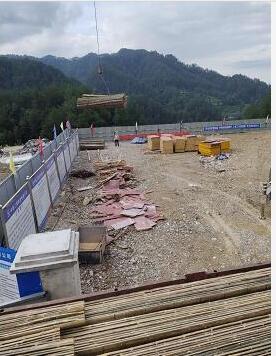 貴州赤水竹跳板合作案例