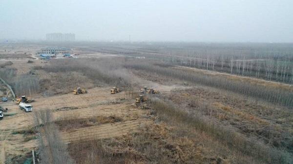 石家庄建设集中隔离点,三千套集成房屋正陆续运抵正定县