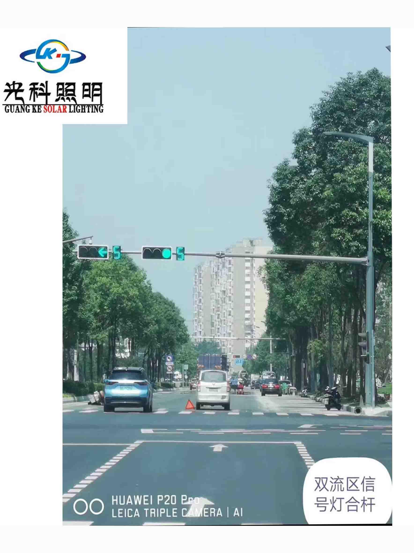 四川路灯灯杆