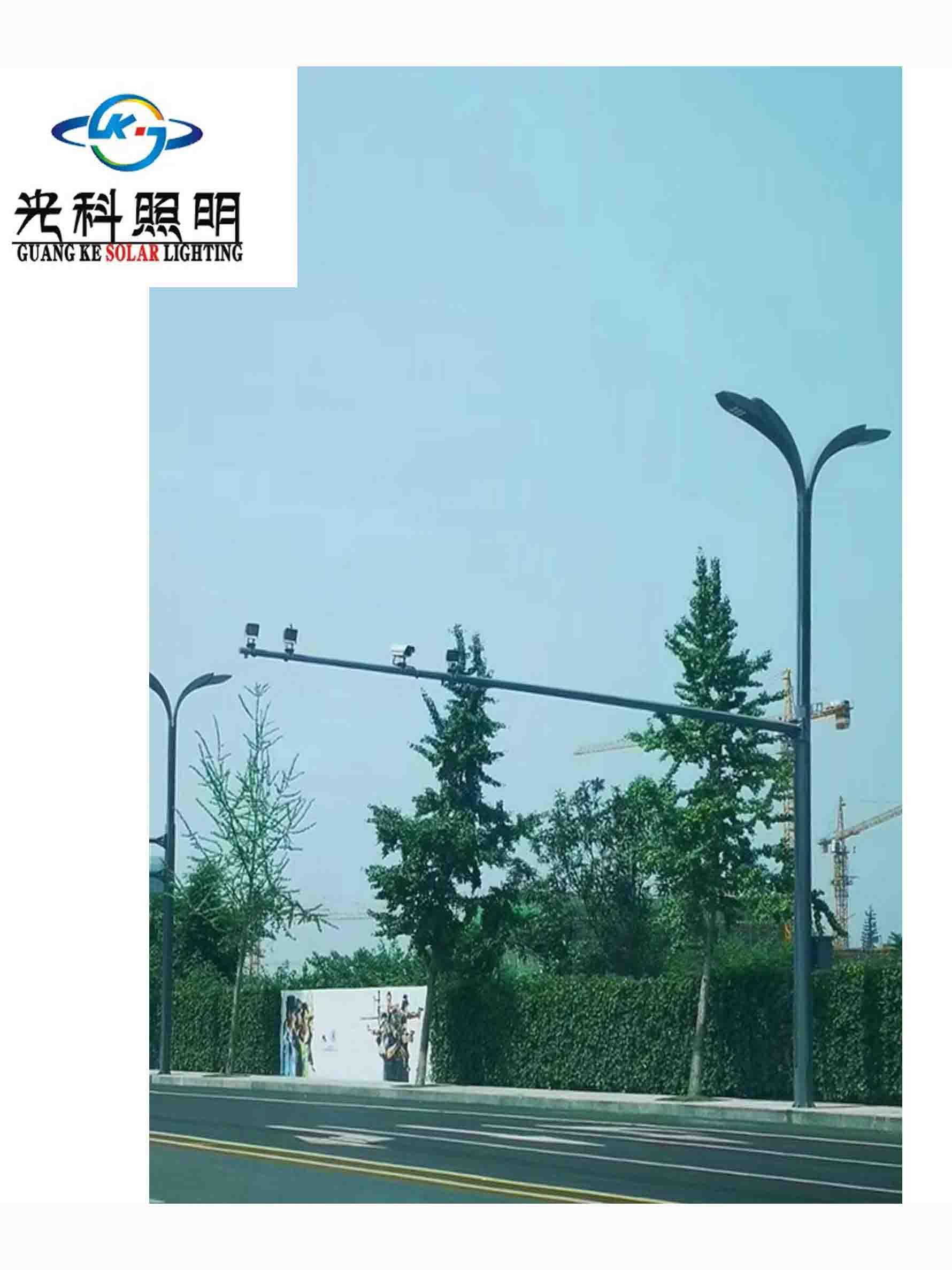 四川路灯灯杆生产