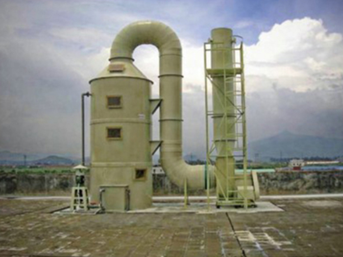 宁夏缠塑环保讲解玻璃钢废气吸收塔注意事项!
