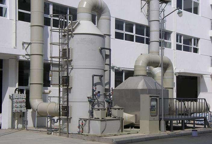 银川有机废气处理塔