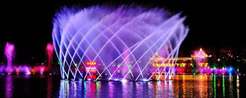四川喷泉厂家分享:喷泉建设对水质的要求