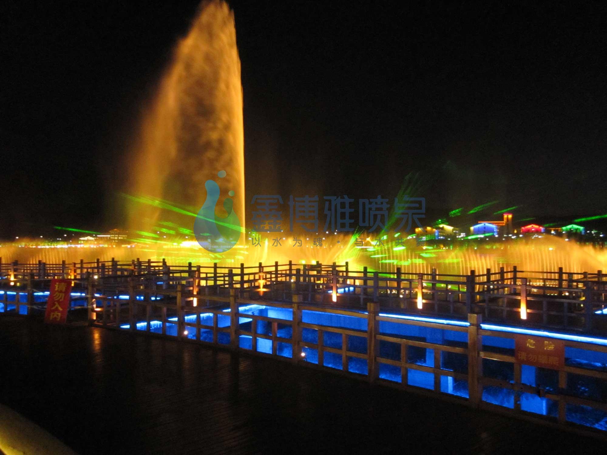 四川超高喷泉厂家