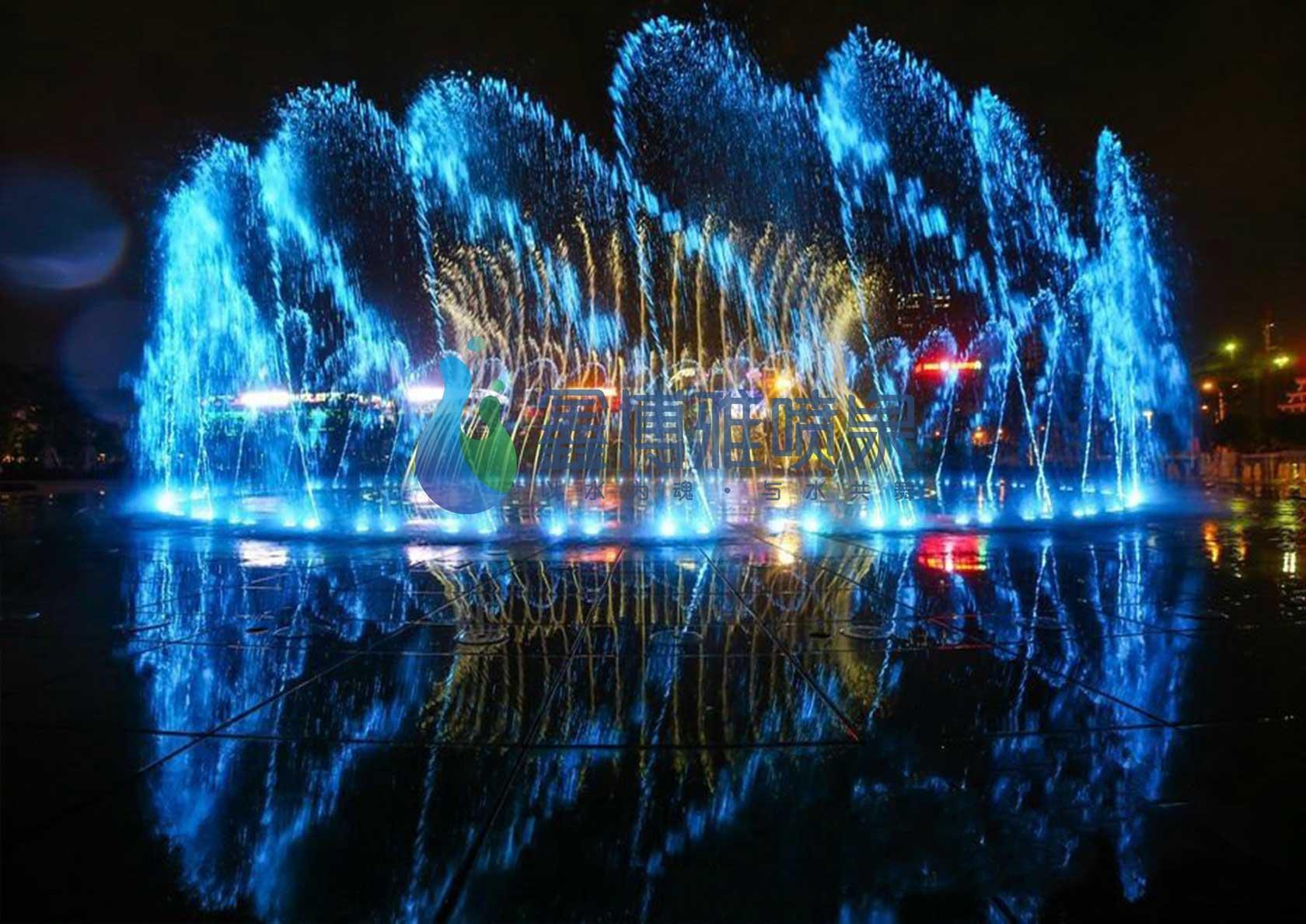 四川互感摇摆喷泉