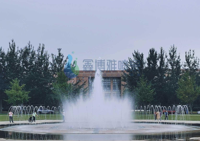 四川旱地喷泉
