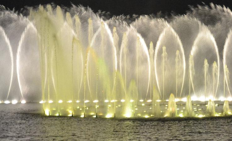 水景喷泉在施工上有哪些注意事项?
