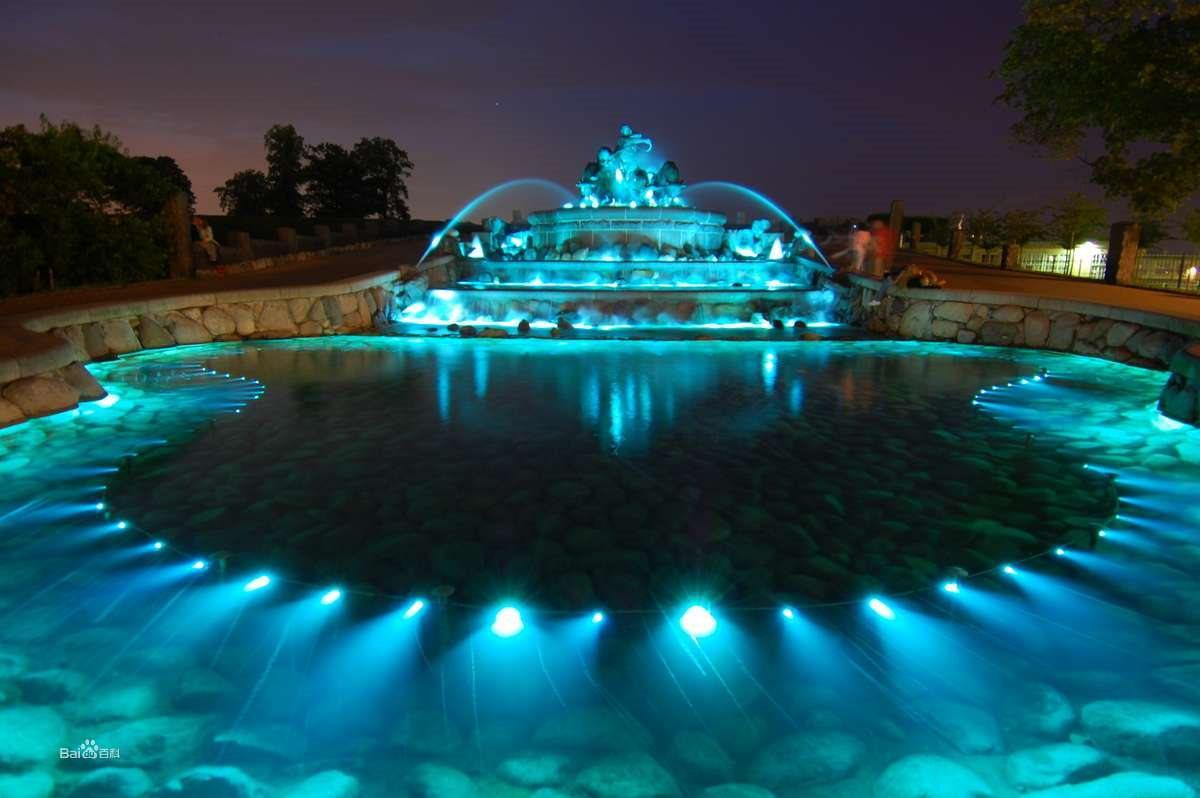 四川广场音乐喷泉中水泵及喷头类型解说